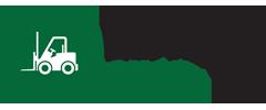 Heftruck shop: staalkabel, schoonmaakmachines, heftrucks tweedehands, toebehoren heftrucks, transport logo