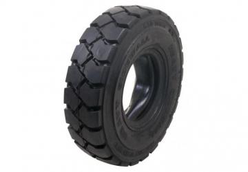 Full rubber tyres - black
