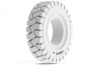 Non-marking tyres - white
